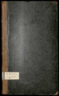 Series zebrany[ch] [...] Anno Dni 1765 [...] przez [...] Antoniego Borzysławskiego chorążego halickiego [...] spisane [...]