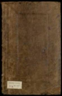 Różne mowy publiczne, sejmowe, sejmikowe, projekta, listy królów i senatorów od roku 1666 do 1734; tudzież Replika na reskrypt przeciw paralelli dwóch elekcyi polskich przez X. Załuskiego referendarza koronnego 1734
