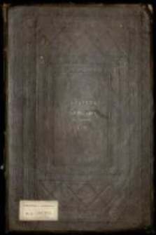 Prawa i statuty W. Ks. Litewskiego od roku 1457 do 1563