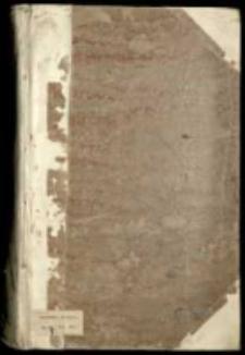 """""""Historia vom Aufruhr zu Dantzig welcher sich angefangen Ao 1522 und durch Ihre Köngl[iche] May[estät] von Pohlen Ao 1526 gestillet werden mit allem Fleiss beschrieben durch den ehrbahren Stenzel Bornbach civem Gedanensem Anno Domini 1587"""""""