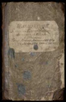 Manuskrypt róznych mów y proiektów iako też różnych wierszów y wiadomości podczas rewolucyi annorum 1768-1769 et ad annum 1774 tum anni 1792