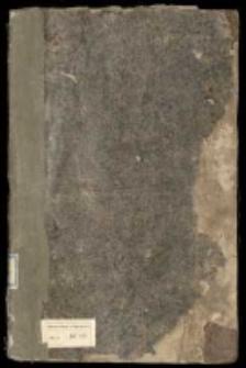 Akta i korespondencja w sprawach publicznych z lat 1750-1758