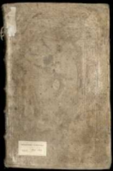 Silva Rerum Variarum Publico [et] Pseudo Politicarum Vtilium [et] Inutilium Ordine et Sine Ordine Conscriptarum Prout in Sijlva quaerendarum per me J. C. G. C. P. advectarum [et] conscriptarvm Anno D[omi]ni 1685