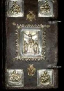 [¬etvero evangelie naprestol'noje...]. [Na końcu:] Peźati v lito 7082 [...] v Vilne mca maia v 14 [...] Sverçena byst kniga sia v leto 1575 marta v 30.