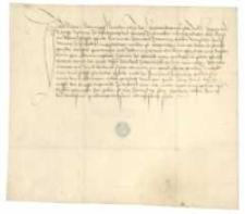 [Pokwitowanie Wilhelma Schrunpfa (Sthrymfa) dla Rudolfa II Scherenberga, księcia frankońskiego i biskupa Würtzburga, z potwierdzeniem odebrania sumy 22 guldenów za sprzedanego konia]