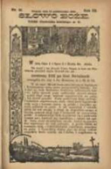 Słowo Boże: dodatek do Przewodnika Katolickiego R.3. 1900 Nr.41