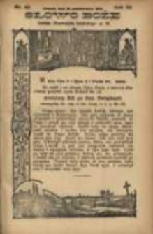 Słowo Boże: dodatek do Przewodnika Katolickiego R.3. 1900 Nr.42