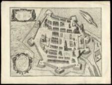 Zamoscium, noua Poloniae ciuitas, à magnifico eius regni cancellario à fundamentis extructa.