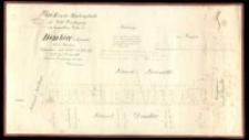 Plan II von der Abfindungsflaeche für Wald Berechtigung der baeuerlichen Wirthe zu Dembiec Kreis Schrimm. Aufgemessen [...] 1859 copirt [...] 1860 durch Heinemann.