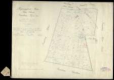 Regierungsbezirk Posen, Kreis Schroda, Gemarkung Kijewo Gut [...] Von der durch Ziehlke im Jahre 1829 angefertigten Copie der Kuhnschen Karte durch der [...] angefertigt und rectifirt [...] im Jahre 1862.