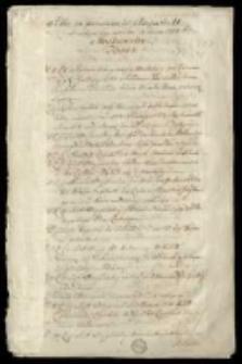 """""""Akta za panowania Augusta II od wstępu iego na tron do końca 1708 roku. Moskiewskie. Tom I."""""""