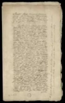 Publika do konfederacji barskiej 1768