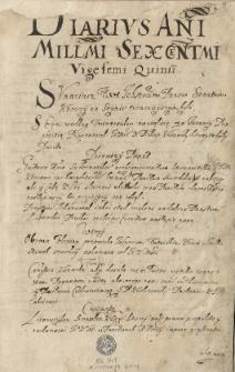 Diariusze lat 1625-1630 oraz korespondencja dyplomatyczna. Jan Brożek, Gratis