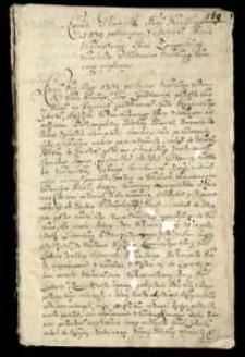 Rokosz Gliniański roku 1349 podniesiony z Metryki [...] Jana Zamoyskiego Kanclerza [...] wypisany