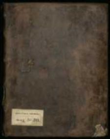 Varia. Miscellanea mei laboris tam carminum quam et felicium cogitationum. , Ad Maiorem Dei Gloriam Beatissimae Virginis Mariae Immaculatae Honorem. Anno 1714 die. 1. januarii per me Stanislaum Jabłonowski Capitaneum Białocerkieviensem.