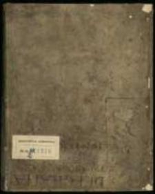 Silva rerum z lat 1698-1701