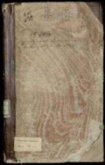 Diarium seymu grodzińskiego za panowania [...] Augusta Wtórego roku 1718 d. trzeciego, miesiąca Octobra zaczętego