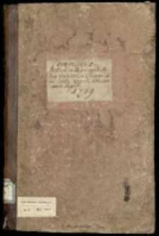 Commissio In Archivo Regni expedita circa traditionem Thesauri Regni kom. [Joanni] Czapski, thesaurario regni. 1739
