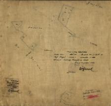 Kopia z mapy katastralnej [...]. Obręb Skrzynki [...] , [Wyk.] W. Guzek.