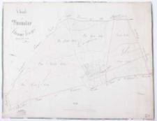 Charte von Kromolice Schrimmer Kreisses. Vermessen im Jahre 1819 durch Schulz. Eingetheilt im Jahre 25 durch Kuhn. Copirt im Febr[uar] 27 durch Ziehlke [...].
