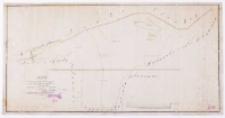 Mapa pomiaru i podziału łąki przy folwarku Bogusławice, majętności Zrzenickiej [...] sporządzona [...] 1858 r. przez X. Stabrowskiego.