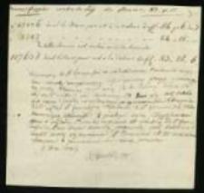 Korespondencja głównie w sprawach publicznych z lat 1702-1810