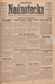 Gazeta Nadnotecka: bezpartyjne pismo narodowe poświęcone sprawie polskiej na ziemi nadnoteckiej 1930.10.10 R.10 Nr234