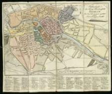 Grundriss der Königl. Residenystädte Berlin. Im Jahr 1789 von neuen Angefertiget durch Carl Ludwig von Oesfeld. C. Jack sculp.