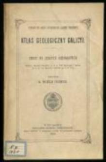 Atlas geologiczny Galicji. Tekst do zeszytu szesnastego.