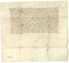 Zatwierdzenie sprzedaży Siedleczka, włości Tomisława, sędziego kaliskiego, dokonanej na rzecz Bodzanty, właściciela wsi Wiśniewa za 200 grzywien.