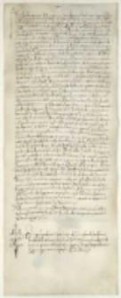 [Krzysztof Mielich, pełnomocim Jakuba Fuggera, wystawia kwit Janowi Jakubowi z Dugnano, kupcowi mediolańskiemu, na sumę 8000 dukatów, które Jan wypłacił mu z polecenia księżnej Izabelli z tytułu posagu jej córki Bony, królowej Polski].