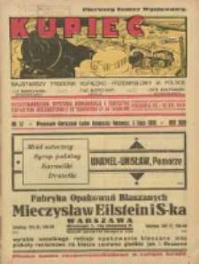 Kupiec: najstarszy tygodnik kupiecko - przemysłowy w Polsce 1930.07.05 R.24 Nr27; Międzynarodowa Wystawa Komunikacji i Turystyki; Exposition Internationale de Transport et de Tourisme Poznań 6 VII 10 VIII 1930; Pierwszy Numer Wystawowy