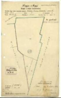 Kopja z kopji. Kopja z mapy katastralnej [...]. Karta 5 [...] Obręb: Biernatki [...] , B. Janicki.