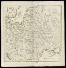Polska i Litwa za Kazimierza Wielkiego i Olgierda r. 1370.