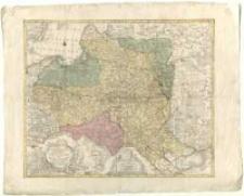 Mappa geographica ex novissimis observationibus repraesentans Regnum Poloniae et Magnum Ducatum Lithuaniae. Cura et sumpt. Tobiae Conradi Lotter.