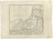 Polen in die dermaligen Besitzungen eingetheilt. Nach der vortreflichen Karte von [Giovanni Antonio] Rizzi-Zannoni.