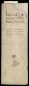Kolekcja akt, dokumentów i korespondencji z 16-19 w.