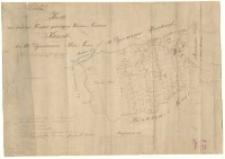 Karte von dem zu Trzebaw gehoerigen Wiesen-Terrain Kierszki bei Alt-Dymaczewo, Kreis Posen. Kopirt von der 1822/23 durch Kuhn gefertigten [...] 1866 durch [...] Biedermann.