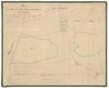 Karte von den zu Trzebaw gehoerigen Enclaven auf Łódź, Kreis Posen. Aus der Ziehlkeschen Kopie de 1829, der Kuhnschen Vermessung de 1822/23, copirt im Jahre 1866 durch [...] Biedermann.
