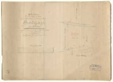 II-te Reinkarte von dem Abfindungs-Plane für die Weideberechtigung der katholischen Schule zu Bogdaj [!] Kreis Schroda. Abgesteckt, vermessen [...] und entworfen im Massstabe 1:1000 im Januar 1885 durch J. Krenz.