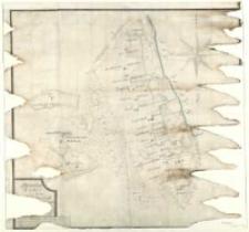 Broullion Carte von denen [zu der] Herrschaft [...] gehörigen [...] 1774 durch A. Grund.