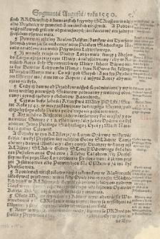 [Constitucie, statuta y przywileie na walnych seymiech koronnych od roku [...] 1550 aż do roku 1598 uchwalone