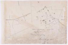 Kopia z mapy katastralnej obrębu [...] Czmoniec [...] przekopiował T. Szczebliński