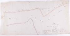 Plan von der Grenze zwischen dem Domainen Gute Trzebieslawek und mehrer[e]n zur Herrschaft Kurnik gehoerigen Ortschaften Schrimer Kreisses. Nach der vorhandenen Ronsschen Charte und der geschehenen Behügelung gefertigt im [...] 1831 durch Ziehlke.