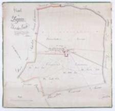 Charte von Żymin Schrodaer Kreisses. Vermessen durch Schulz, nach dem [...] berichtigt durch Kuhn im Jahre 1825 copirt im [...] 1827 durch Ziehlke.