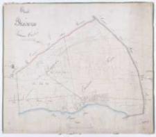 Charte von Prusinowo Schrimmer Kreises Vermessen im Jahre 1823 durch Kuhn copirt nach der Separation im Maerz 1827 durch Ziehlke [...].