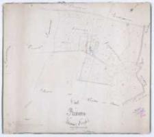 Charte von Runowo Schrimmer Kreisses. Vermessen im Jahre 1819 durch Schulz nach der projectirten Separation copirt im Marz 1827 durch Ziehlke [...].