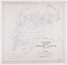 Mapa poglądowa wydziału Kościelisko - Zakopane.