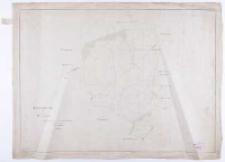 Handzeichnung vom Gute Urniszewo Ausgefertigt [...] 1889 [...] Clausen.