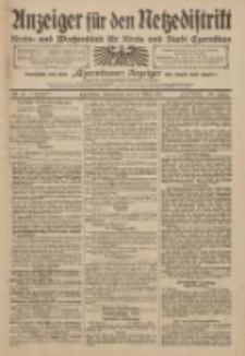 Anzeiger für den Netzedistrikt Kreis- und Wochenblatt für Kreis und Stadt Czarnikau 1911.03.11 Jg.59 Nr31
